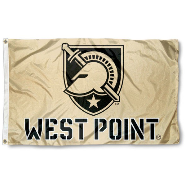 Army West Point Gold 3x5 Flag is made of 100% nylon, offers quad stitched flyends, measures 3x5 feet, has two metal grommets, and is viewable from both side with the opposite side being a reverse image. Our Army West Point Gold 3x5 Flag is officially licensed by the selected college and NCAA