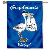 Assumption College Greyhounds New Baby Flag