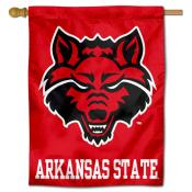 ASTATE Red Wolves House Flag
