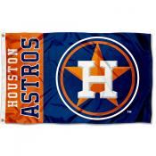 Astros Outdoor Flag
