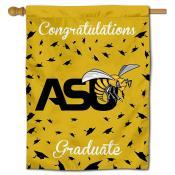 ASU Hornets Congratulations Graduate Flag