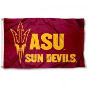 ASU Maroon Pitchfork Flag