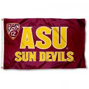 ASU Sun Devils Pac 12 Logo Flag