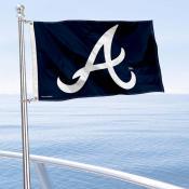 Atlanta Braves Boat and Nautical Flag