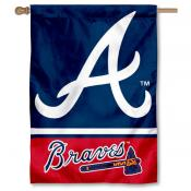 Atlanta Braves Double Sided House Flag