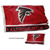 Atlanta Falcons Allegiance Flag