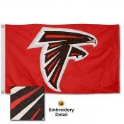 Atlanta Falcons Embroidered Nylon Flag
