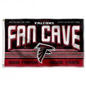 Atlanta Falcons Fan Cave Flag Large Banner