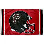Atlanta Falcons New Helmet Flag