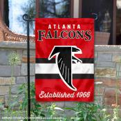 Atlanta Falcons Throwback Logo Double Sided Garden Flag Flag