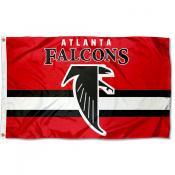Atlanta Falcons Throwback Retro Vintage Logo Flag