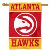 Atlanta Hawks Double Sided House Flag