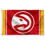 Atlanta Hawks Logo 3x5 Flag