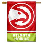 Atlanta Hawks Logo Double Sided House Flag