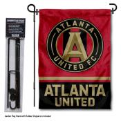 Atlanta United FC Garden Flag and Flagpole Stand