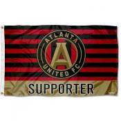 Atlanta United FC Supporter 3x5 Foot Logo Flag