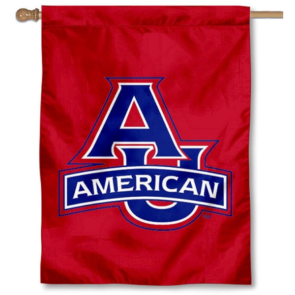 AU Eagles Banner Flag is a vertical house flag which measures 30x40 inches, is made of 2 ply 100% polyester, offers dye sublimated NCAA team insignias, and has a top pole sleeve to hang vertically. Our AU Eagles Banner Flag is officially licensed by the selected university and the NCAA.
