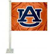 Auburn Car Window Flag
