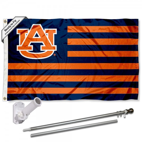 Auburn Flag Pole and Bracket Kit
