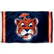 Auburn Throwback Vault Logo Flag