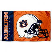 Auburn Tigers College Football Flag