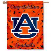 Auburn Tigers Congratulations Graduate Flag