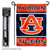 Auburn Tigers Garden Flag and Stand