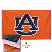 Auburn Tigers Nylon Embroidered Flag