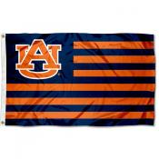 Auburn Tigers Striped Flag