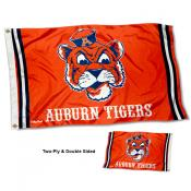 Auburn Tigers Throwback Double Sided Flag