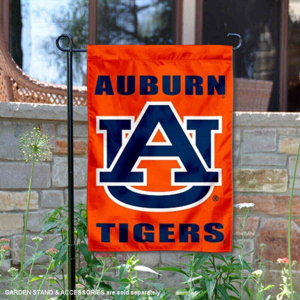 Auburn Tigers Window and Garden Flag is 13x18 inches in size, is made of 2-layer polyester, screen printed Auburn University athletic logos and lettering. Available with Same Day Express Shipping, Our Auburn Tigers Window and Garden Flag is officially licensed and approved by Auburn University and the NCAA.