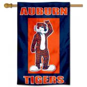 Auburn University Aubie Mascot House Flag
