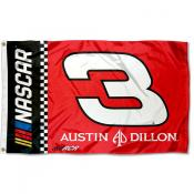 Austin Dillon 3x5 Large Banner Flag