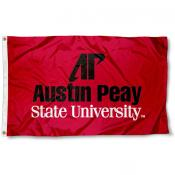 Austin Peay State University Polyester Flag