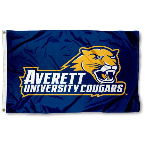 Averett Cougars Flag is made of 100% nylon, offers quad stitched flyends, measures 3x5 feet, has two metal grommets, and is viewable from both side with the opposite side being a reverse image. Our Averett Cougars Flag is officially licensed by the selected college and NCAA