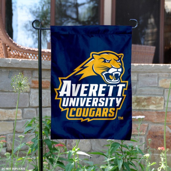 Averett University Garden Flag is 13x18 inches in size, is made of 2-layer polyester, screen printed university athletic logos and lettering, and is readable and viewable correctly on both sides. Available same day shipping, our Averett University Garden Flag is officially licensed and approved by the university and the NCAA.