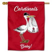 Ball State Cardinals New Baby Flag