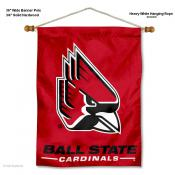 Ball State Cardinals Wall Banner