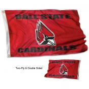 Ball State Double Sided Flag