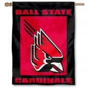 Ball State University House Flag