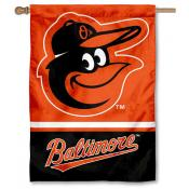 Baltimore Orioles Double Sided House Flag
