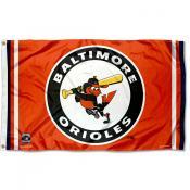 Baltimore Orioles Vintage Flag