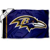 Baltimore Ravens 4x6 Flag