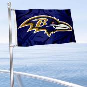 Baltimore Ravens Boat and Nautical Flag