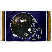 Baltimore Ravens New Helmet Flag
