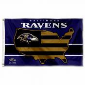 Baltimore Ravens USA Country Flag