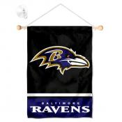 Baltimore Ravens Window and Wall Banner