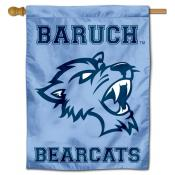 Baruch College Bearcats Double Sided House Flag