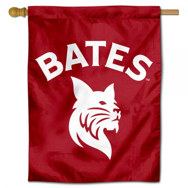 Bates College Bobcats Double Sided House Flag is a vertical house flag which measures 30x40 inches, is made of 2 ply 100% polyester, offers screen printed NCAA team insignias, and has a top pole sleeve to hang vertically. Our Bates College Bobcats Double Sided House Flag is officially licensed by the selected university and the NCAA.