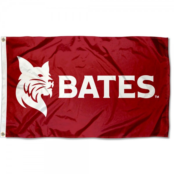 Bates College Bobcats Flag measures 3x5 feet, is made of 100% polyester, offers quadruple stitched flyends, has two metal grommets, and offers screen printed NCAA team logos and insignias. Our Bates College Bobcats Flag is officially licensed by the selected university and NCAA.